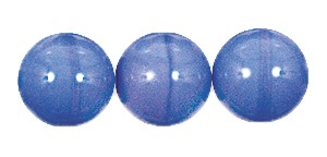 Druk Smooth Round Beads #4150 10MM Opaque Blue (300 Pieces)